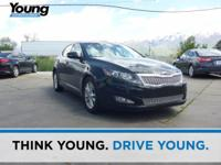 2013 Kia Optima EX. Leather. Stability and traction