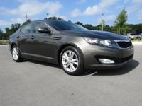 KIA CERTIFIED...LOCAL TRADE IN, LEATHER SEATS,
