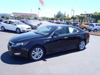 CARFAX One-Owner. 2013 Kia Optima EX Black One Owner,