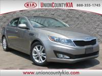 **CLEAN 1-OWNER CARFAX, Leather, Optima EX, Beige