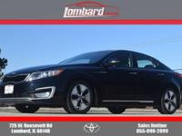 2013 Kia Optima Hybrid EX in Aurora Black, **ONE
