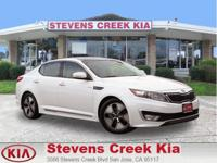 Options:  2013 Kia Optima Ex Hybrid Sedan|White|4-Cyl