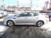 Check out this gently-used 2013 Kia Optima Hybrid we
