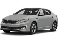 ~~ 2013 Kia Optima Hybrid LX ~~ CARFAX: 1-Owner, Buy
