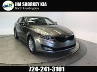 2013 Kia Optima LX FWD New Price! CARFAX One-Owner.