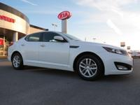 Low Miles! This 2013 Kia Optima LX will sell fast
