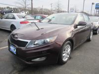 Your search is over with this  2013 Kia Optima. This