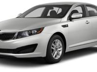 Optima LX, 4D Sedan, FWD, Snow White Pearl, and Gray