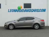 Options:  2013 Kia Optima Lx|Power Seat Gray|30|580