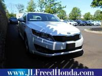 Very clean, and well maintained Optima! Clean CARFAX