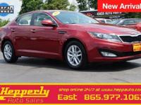 CARFAX One-Owner. This 2013 Kia Optima LX in Remington