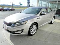 This 2013 Optima EX has less than 2k miles. CARFAX 1
