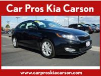 2013 Kia Optima Sedan LX Our Location is: Car Pro's Kia