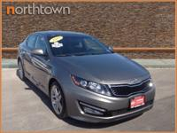 Climb inside the 2013 Kia Optima! It delivers plenty of