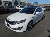 FULLY LOADED!!! Here is a 2013 Kia Optima SXL with ONLY
