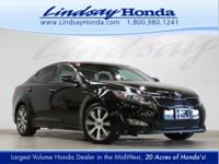 Ebony Black 2013 Kia Optima SX FWD 6-Speed Automatic