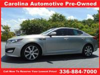 Check this out! This stellar 2013 Optima SX in Titanium
