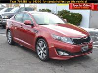 Treat yourself to a test drive in the 2013 Kia Optima!