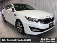 Recent Arrival! 2013 Kia Optima SX CARFAX One-Owner.