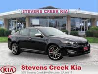 Options:  2013 Kia Optima Limited-Sxl Sedan|Black|4-Cyl