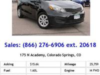 2013 Kia Rio 4dr Car LX Our Location is: Spradley
