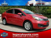 CARFAX One-Owner. FULLY SAFETY INSPECTED, Rio EX, 4D