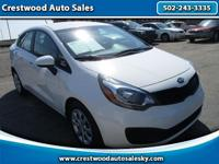 2013 Kia Rio LX GDI! Tinted glass! Traction control! CD