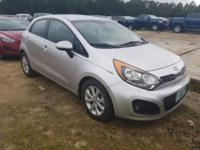Bright Silver 2013 Kia Rio EX FWD 6-Speed Automatic