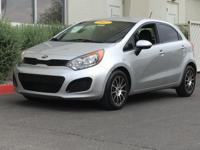 New Price! Clean CARFAX. 2013 Kia Rio LX FWD 1.6L I4