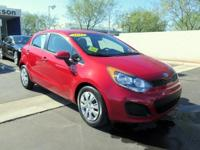2013 Kia Rio LX Hatchback. A practical and stylish, One