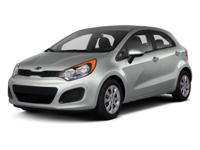 Options:  2013 Kia Rio Sx|Blue/|V4 1.6L Automatic|67781