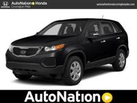 This One Owner Kia Sorento has been well cared for and