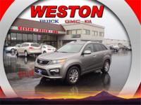 This 2013 Kia Sorento SX is a steal, with conveniences