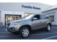 2013 Kia Sorento Crossover LX Our Location is: Franklin