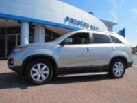 2013 Kia Sorento LX FWD Silver 6-Speed Automatic with