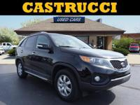 Recent Arrival! CARFAX One-Owner.   Black 2013 Kia