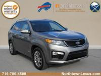 Take command of the road in the 2013 Kia Sorento! Very