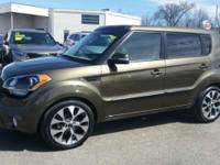 This 2013 Kia Soul Exclaim, with only 12,255 miles,