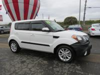 Kirby Kia is proud to offer this 2013 Kia Soul Plus.
