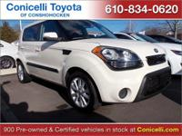This 2013 Kia Soul + will sell fast -Bluetooth -Aux.