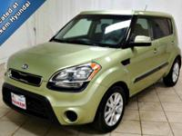 This 2013 Kia Soul is a clean, one owner vehicle at a