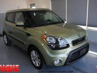 Clean CARFAX. GREEN 2013 Kia Soul FWD 6-Speed 2.0L