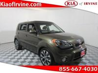 We are the #1 Kia CPO Dealer in the USA! This Kia Soul