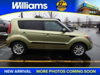 Options:  2013 Kia Soul Plus|Green|Abs Brakes|Air