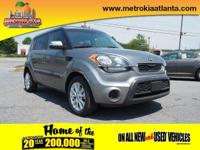 You'll love getting behind the wheel of this 2013 Kia