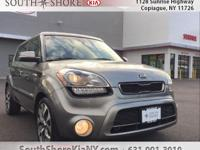 Gray 4D Hatchback 2013 Kia Soul Exclaim FWD 6-Speed