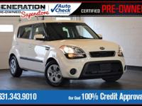 New Price! White 2013 Kia Soul FWD 6-Speed Automatic
