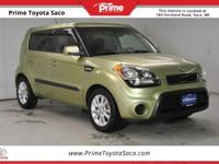 2013 Kia Soul in Alien Pearl Metallic! With these