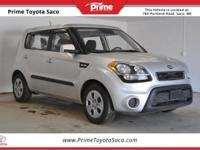 CARFAX One-Owner! 2013 Kia Soul in Bright Silver