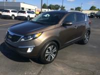 This 2013 Kia Sportage EX in Brown is a great choice.